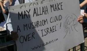 Musulmanes descaradamente revelar su deseo de borrar Judios de la faz de la tierra. (Fuente: http://patdollard.com/2013/04/anti-semitic-attacks-surge-30-in-2012/)
