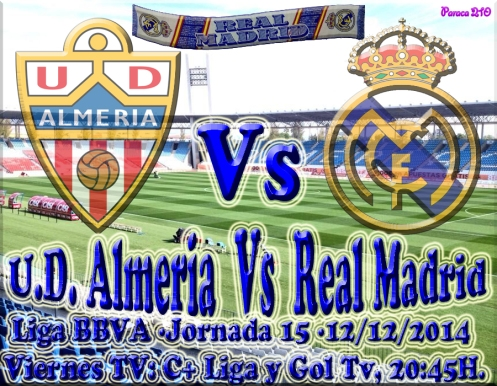 ALMERIA VS REALMADRID