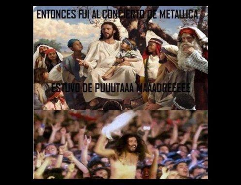 meme-jesus-en-concierto-de-metallica