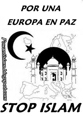 STOP ISLAM EURABIA NO