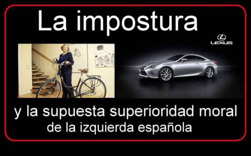 De la impostura y la supuesta superioridad moral de la izquierda española