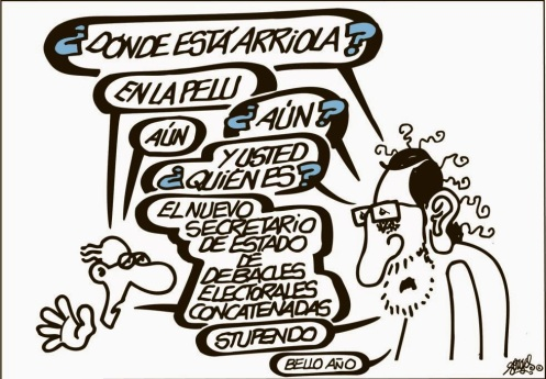 Forges. El bello año de Rajoy