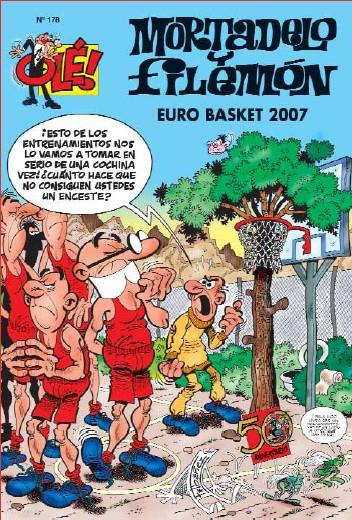 mortadelo-y-filemon-ole-n-178-eurobasket-2007-9788466631501