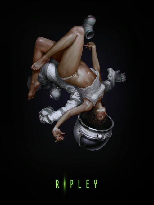 Alien - Ripley by Dmitry Grebenkov