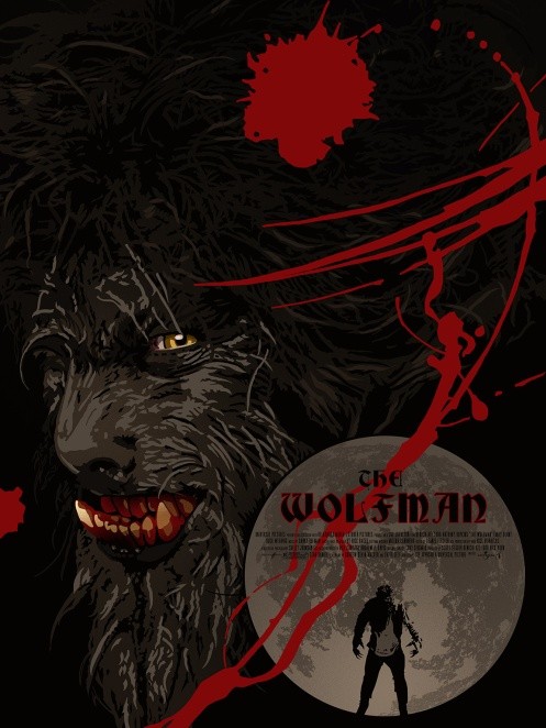 Bloodmoon (The Wolfman) by The Dark Inker