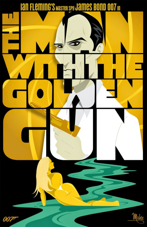The Man with the Golden Gun by Mike Mahle