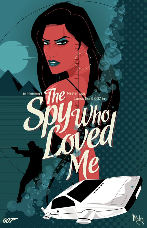 The Spy Who Loved Me by Mike Mahle