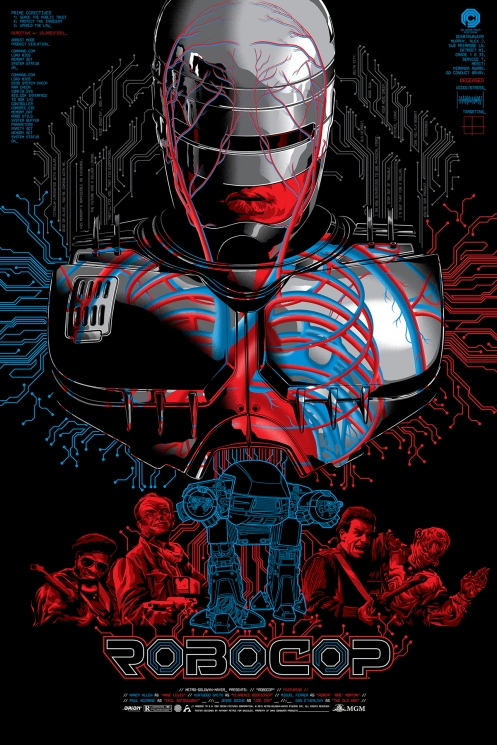 Robocop by Anthony Petrie