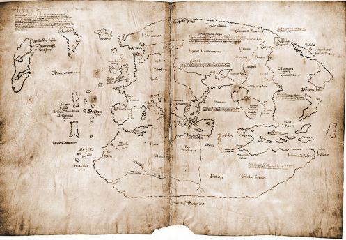 mapa vinlandia