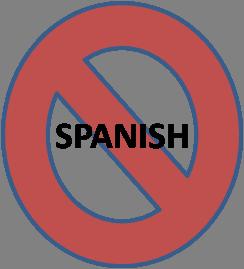 no-spanish